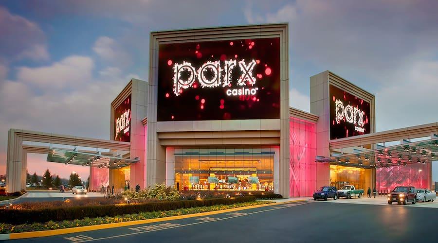 parx casino facade exterieure
